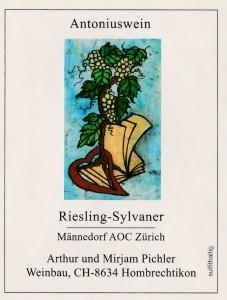 Antoniuswein-Riesling-Sylvaner-Männedorf